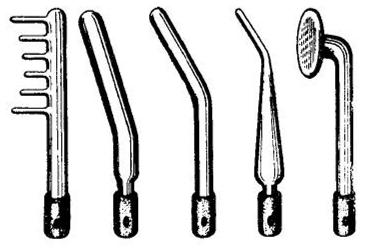 Вакуумные электроды аппаратов дарсонвализации массажеры советского союза